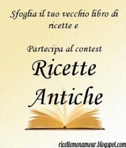 contest ANTICHE RICETTE